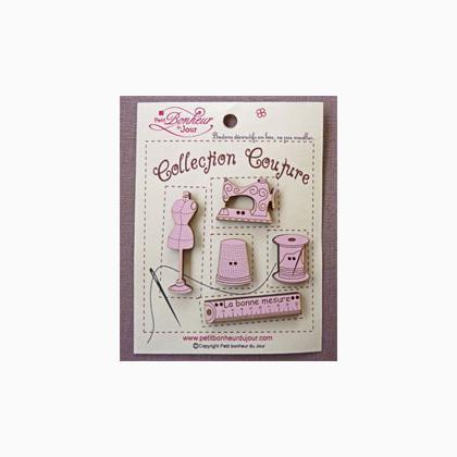 collection couture rose from petit bonheur du jour petit bonheur du jour beads charms. Black Bedroom Furniture Sets. Home Design Ideas