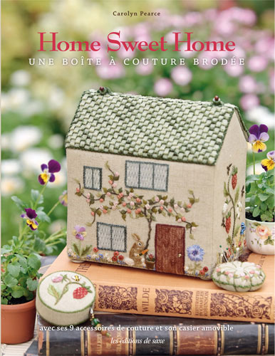 Home sweet home une bo te couture brod e from les for Kit boite a couture