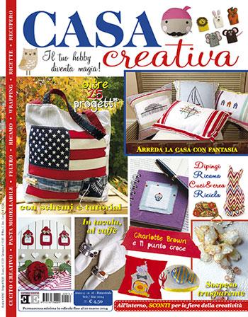 Casa creativa n 16 da editoria europea libri riviste for Riviste per la casa