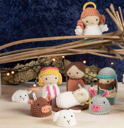Amigurumi Nativity : Kit Amigurumi - Nativity scene From DMC - Kits - Knitting ...