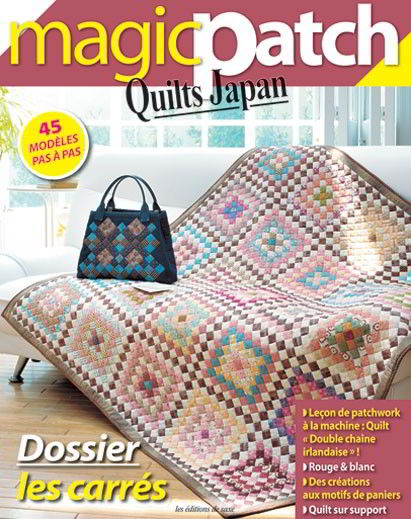 Magic Patch quilts Japan - Les carrés From Les édition de saxe ... : quilts japan magazine - Adamdwight.com