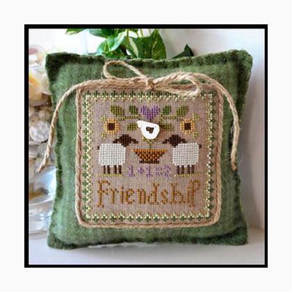 Pastel Floss Friends Needleminder Needle Keeper Cross Stitch Pals Cross Stitch Pin Badge Friendship Cross Stitch Gift