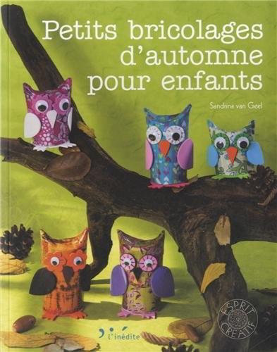 Petits Bricolages D 39 Automne Pour Enfants From L 39 Indite Books Magazines Embroidery Casa