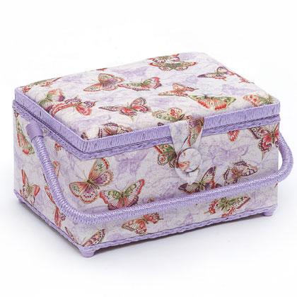 Panier papillons moyen de hobby gift bo tes ouvrage for Boite a couture casa