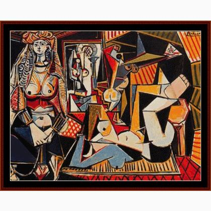 Picasso Algerian Women From Cross Stitch Collectibles
