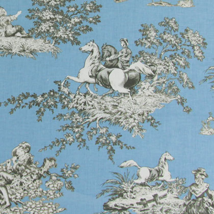 Gutermann French Cottage Blue fabric 100/% cotton Quilting//Patchwork//Sewing