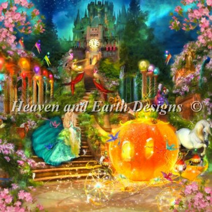 Cinderella From Heaven And Earth Designs Cross Stitch
