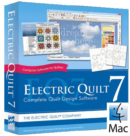 Electric Quilt ® 7 Software - Mac From The Electric Quilt Company ... : electric quilt company - Adamdwight.com