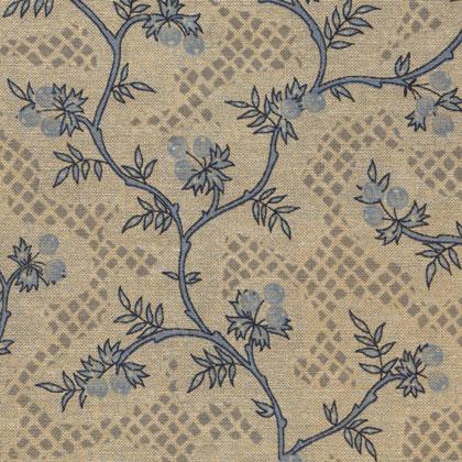 Eloa chambray grey blue da mas d 39 ousvan arredamento for Stoffe arredamento