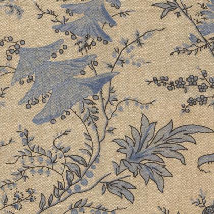 Sati chambray blue grey da mas d 39 ousvan arredamento for Stoffe arredamento