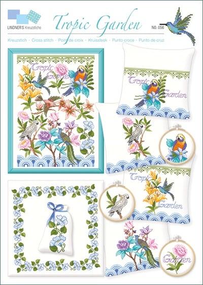 Tropic Garden From Lindner S Kreuzstiche Cross Stitch Charts