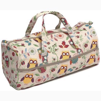 Owls Knitting Bag From Hobby Gift