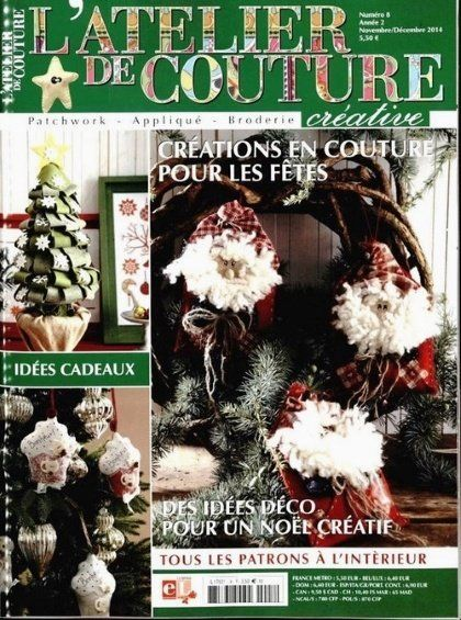 L 39 Atelier De Couture Crative N 8 From Lumina Edizioni