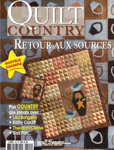 quilt country 42 retour aux sources de les dition de saxe livres et revues livres et. Black Bedroom Furniture Sets. Home Design Ideas