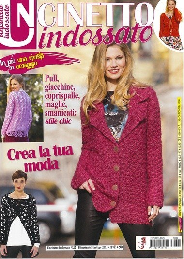 Uncinetto Indossato.Uncinetto Indossato 22 From Cigra Books And Magazines Books And Magazines Casa Cenina