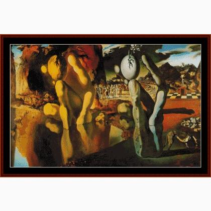 """metamorphosis of narcissus salvador dali essay Hello kate and thank you for your question the painting metamorphosis of narcissus was created by salvador dali in 1937 """"dali used repeated images and the."""