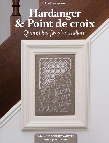 hardanger point de croix de les dition de saxe livres. Black Bedroom Furniture Sets. Home Design Ideas