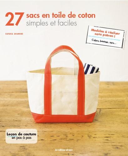 27 sacs en toile de coton simples et faciles from les dition de saxe books magazines