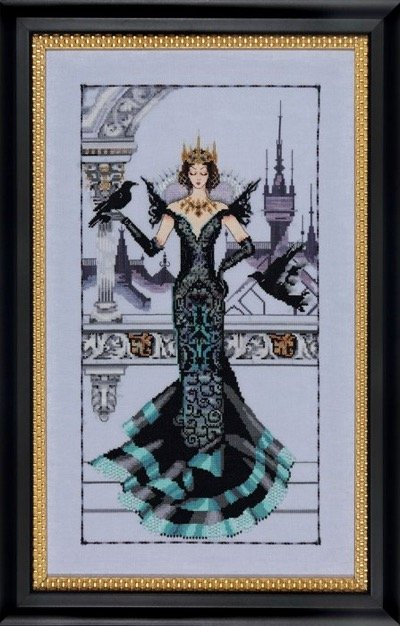 The Raven Queen Md139 From Mirabilia Design Nora