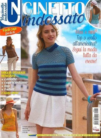 Uncinetto Indossato.Uncinetto Indossato 24 From Cigra Books And Magazines Books And Magazines Casa Cenina