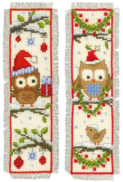 Vervaco Bookmark Owl Cross Stitch Kit