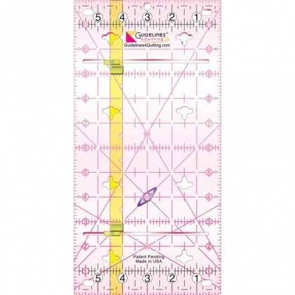 how to draw a 30 degree angle ruler for quilting