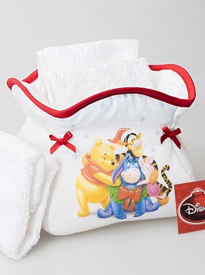 Juegos De Baño De Winnie Pooh:Estuche de bao – Winnie the Pooh de Filet – Para los nios – Bordado