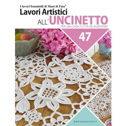 Lavori Artistici Alluncinetto 47 From Mani Di Fata Books And