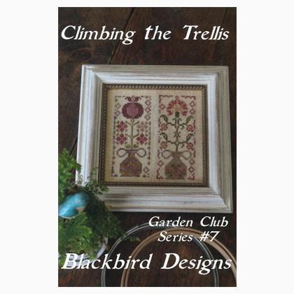Climbing the trellis gardenclub 7 da blackbird designs for Garden club book by blackbird designs