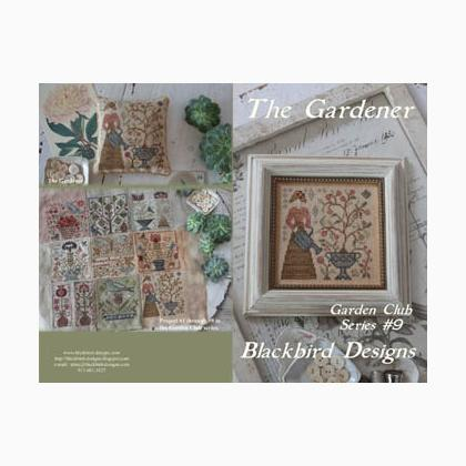 Gardener the garden club 9 de blackbird designs for Blackbird designs tending the garden