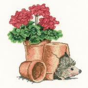 Garden Friend From Heritage Stitchcraft Cross Stitch