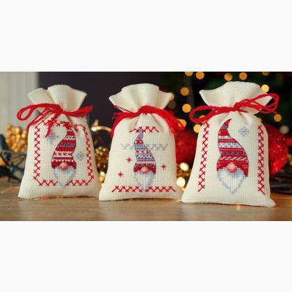 Christmas Gnomes Pictures.Potpourri Bags Christmas Gnomes