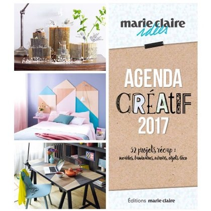 agenda cr atif marie claire id es 2017 from marie claire books and magazines books and. Black Bedroom Furniture Sets. Home Design Ideas