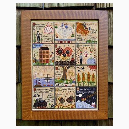 Chincoteague Carriage House Samplings Cross Stitch Pattern