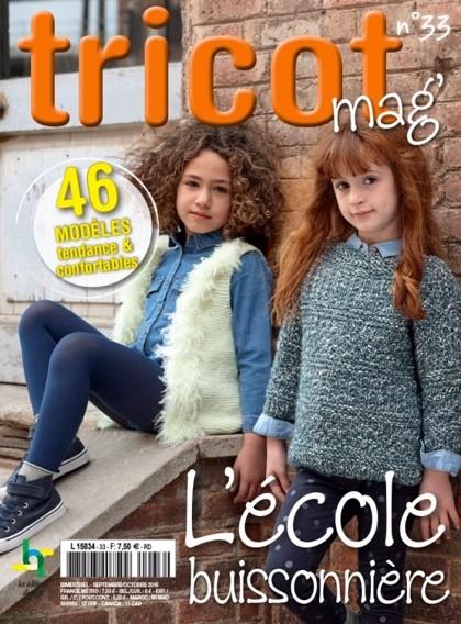 Tricot mag n° 33 - L'école buissonnière From Les édition de saxe - Books and Magazines - Books ...
