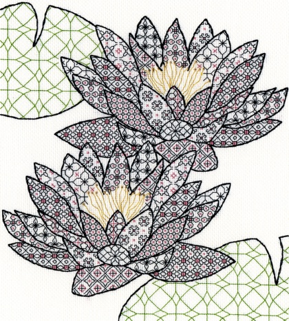 http://www.casacenina.com/catalog/images/img_217/blackwork-water-lilly-bothy-threads-XBW3.jpg