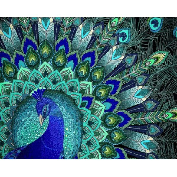Peacock Patterns From Artibalta Diamond Painting Kits