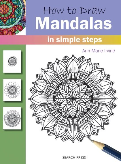 how to draw a mandala for beginners step by step