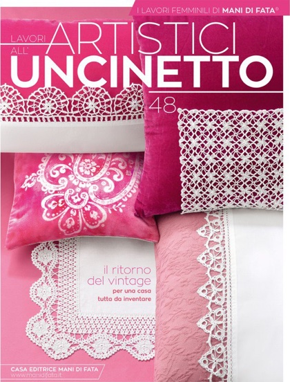 Lavori Artistici Alluncinetto 48 From Mani Di Fata Books And