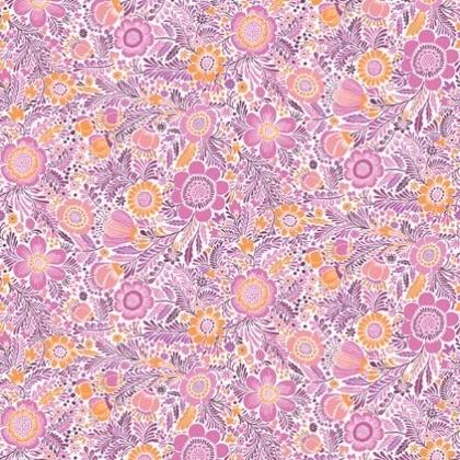 liberty garden fuchsia 45x110cm - Liberty Garden