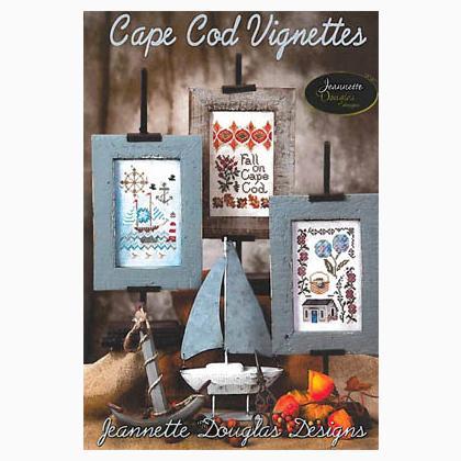Cape cod vignettes da jeannette douglas designs schemi for Cape cod expansion design ideas