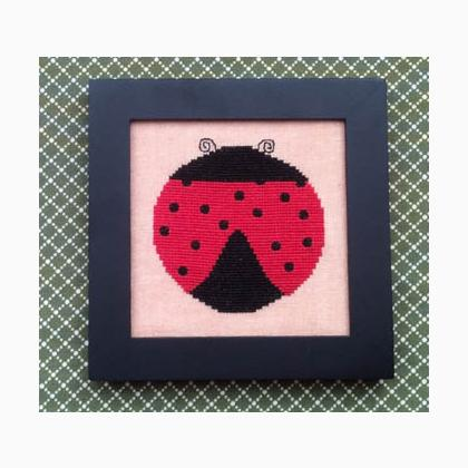 Home Decor May Ladybug From Needle Bling Designs Cross