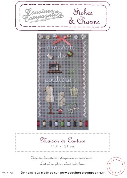Maison de couture from cousines et compagnie cross for Ayzel maison de couture