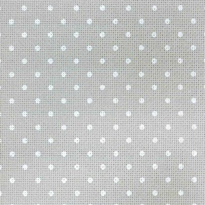 Multiple Sizes Available Zweigart Blue Dots Petit Point 20 Count Aida