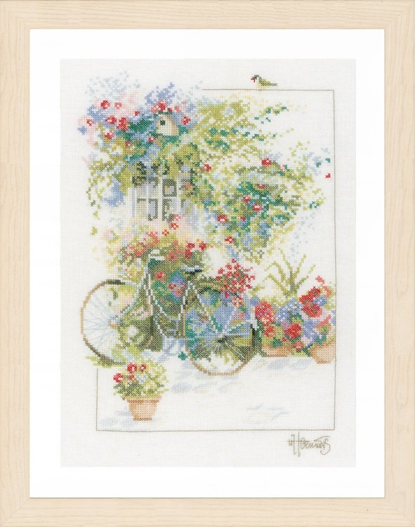 Flowers And Bicycle From Lanarte Flowers Amp Gardens