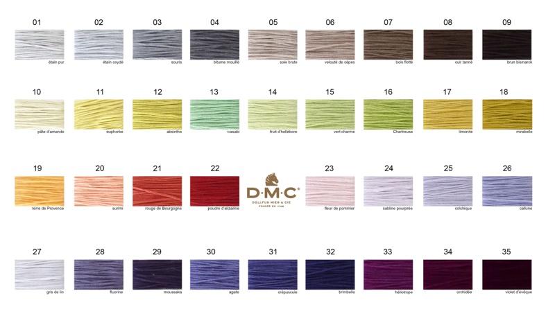 Bundle Dmc Moulin New Colors 2017 From Dmc Dmc Moulin