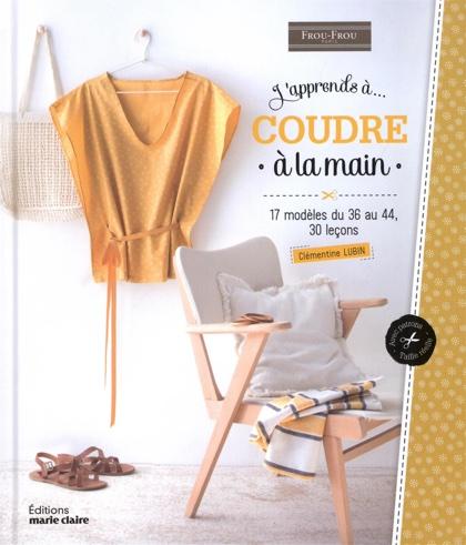j 39 apprends coudre la main da marie claire libri riviste libri riviste casa cenina. Black Bedroom Furniture Sets. Home Design Ideas
