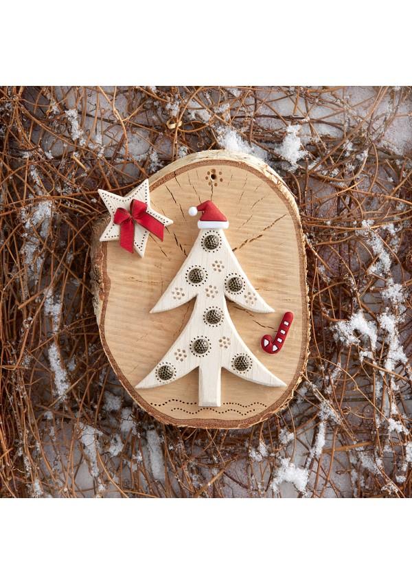 Déco de Noël en bois découpé From Les édition de saxe - Books and ...