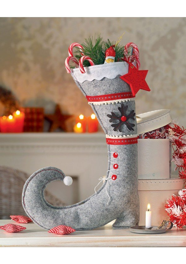 Extrêmement Déco de Noël en couture créative From Les édition de saxe - Books  CS27