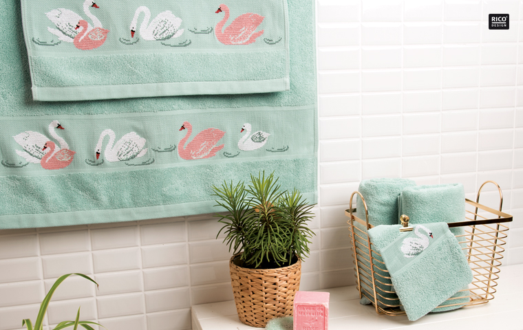 Rico design my cosy bathroom from rico design books and magazines books and magazines Bathroom design pictures books